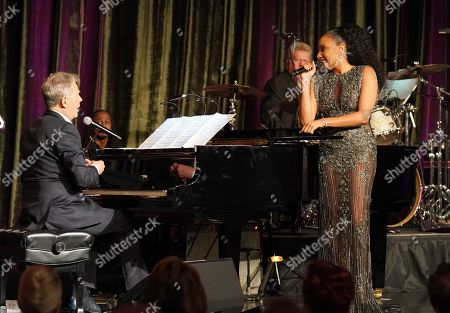 David Foster and Pia Toscano