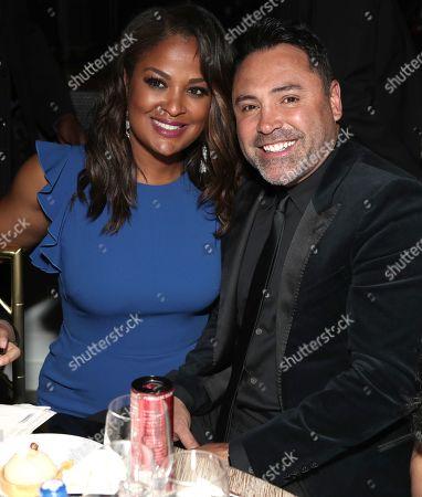 Laila Ali and Oscar De La Hoya