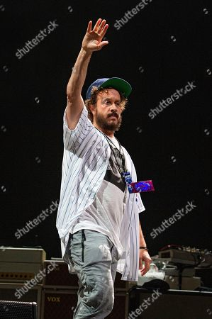 Pauly Shore performs at the Sonic Temple Art and Music Festival at Mapfre Stadium, in Columbus, Ohio