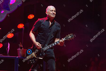 Pat Smear of the Foo Fighters performs at the Sonic Temple Art and Music Festival at Mapfre Stadium, in Columbus, Ohio