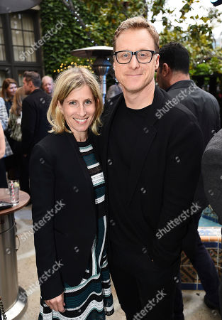 Stock Photo of Charissa Barton, Alan Tudyk. Charissa Barton and Alan Tudyk attend the Backstage at the Geffen 2019 gala at the Geffen Playhouse on in Westwood, Calif