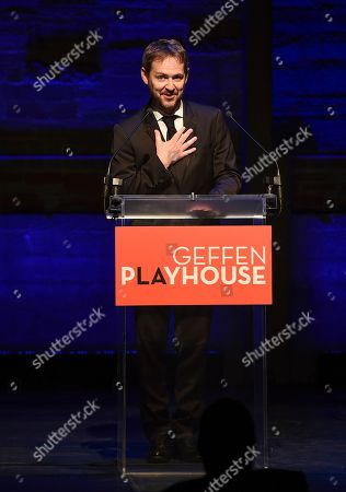 Stock Photo of Matt Shakman, Geffen Playhouse Artistic Director, attends the Backstage at the Geffen 2019 gala at the Geffen Playhouse on in Westwood, Calif