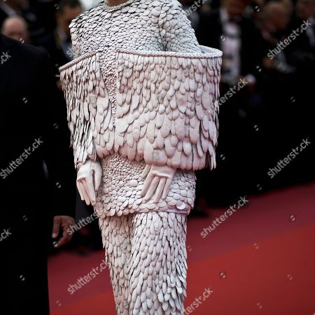 Singer Li Yuchun walks on the red carpet duirng the opening ceremony and the premiere of the film 'The Dead Don't Die' at the 72nd international film festival, Cannes, southern France