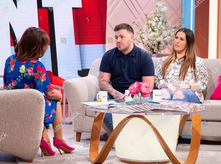 Editorial image of 'Lorraine' TV show, London, UK - 20 May 2019
