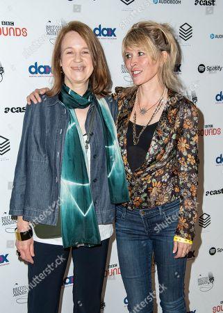 Stock Photo of Vicki Pepperdine and Julia Davis