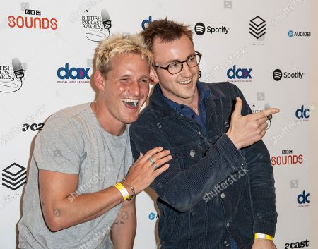 Stock Image of Jamie Laing and Francis Boulle