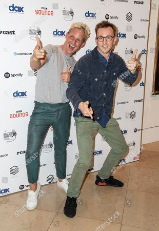 Stock Picture of Jamie Laing and Francis Boulle