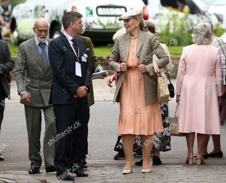 Prince Michael of Kent and Princess Michael of Kent arrive at the RHS Chelsea Flower Show
