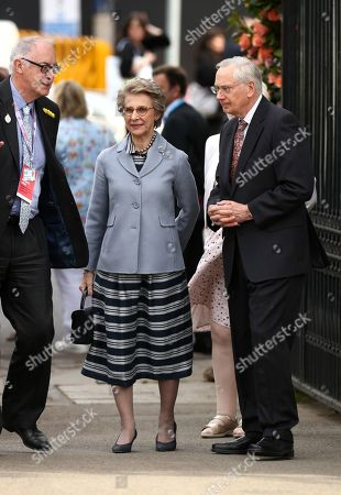Duchess of Gloucester and The Duke of Gloucester arrive at the RHS Chelsea Flower Show