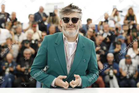 Christophe Honore poses during the photocall for 'Chambre 212' (On a magical night) at the 72nd annual Cannes Film Festival, in Cannes, France, 20 May 2019. The movie is presented in the section Un Certain Regard of the festival which runs from 14 to 25 May.