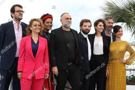 Stock Image of Flavia Gusmao, Rodrigo Teixeira, Barbara Santos, Karim Ainouz, Carol Duarte, Gregorio Duvivier, Julia Stockler and Michael Weber