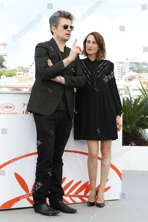 Benjamin Biolay and Camille Cottin