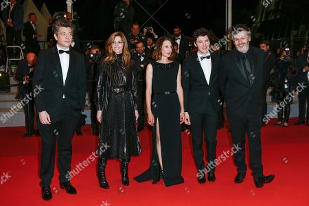 Benjamin Biolay, Chiara Mastroianni, Camille Cottin, Vincent Lacoste and Christophe Honore