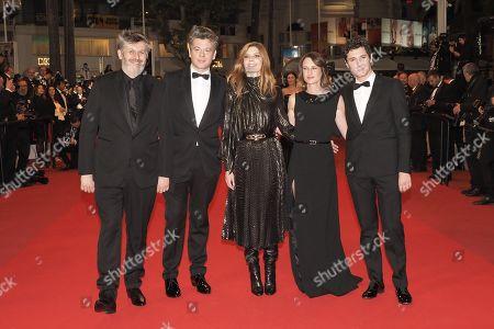 Christophe Honore, Benjamin Biolay, Chiara Mastroianni, Camille Cottin, Vincent Lacoste
