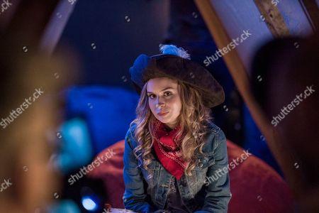 Stock Image of Allie Grant as Melinda Weems