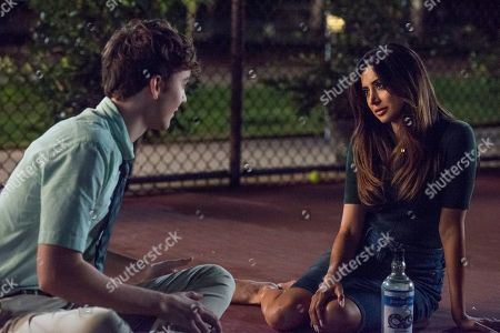 Stock Photo of Ty Doran as Bryce and Noureen DeWulf as Mrs. Lewis