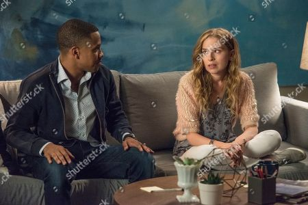 Tequan Richmond as Christian Fulner and Allie Grant as Melinda Weems
