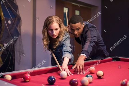 Allie Grant as Melinda Weems and Tequan Richmond as Christian Fulner