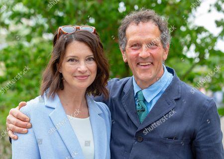 Rachel De Thame and Monty Don