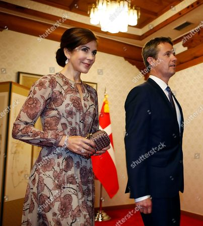 Crown Princess Mary and Crown Prince Frederik of Denmark attend a banquet hosted by South Korean Prime Minister Lee Nak-yeon at the prime minister's official residence in Seoul, South Korea, 20 May 2019. Crown Prince and Princess of Denmark are visiting South Korea to celebrate the 60th anniversary of the establishment of diplomatic ties between the two countries.
