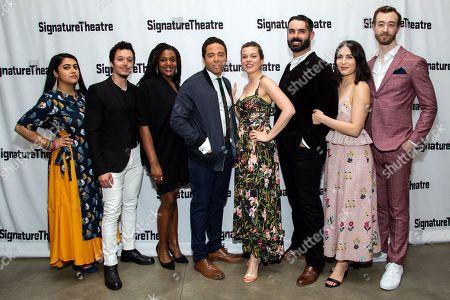 Editorial photo of 'Octet' opening night, Signature Theatre, New York, USA - 19 May 2019