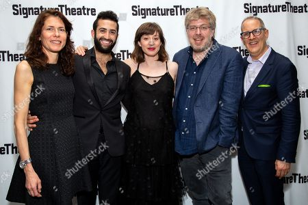 Stock Image of Paige Evans, Or Matias, Annie Tippe, Dave Malloy, Harold Wolpert