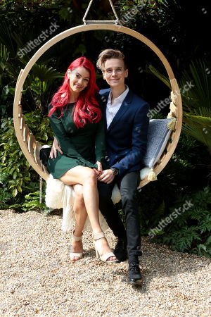 Joe Sugg and Dianne Buswel