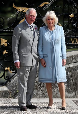 Prince Charles and Camilla Duchess of Cornwall visit to Ireland and Northern Ireland, Day 1