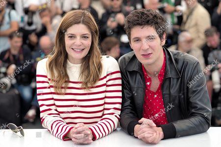 Vincent Lacoste and Chiara Mastroiani