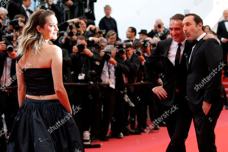 Marion Cotillard, Gilles Lellouche, and Jean Dujardin arrive for the screening of 'La Belle Epoque' during the 72nd annual Cannes Film Festival, in Cannes, France, 20 May 2019. The movie is presented out of competition at the festival which runs from 14 to 25 May.