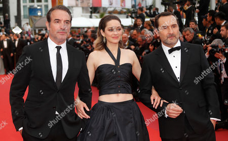 Jean Dujardin, Marion Cotillard and Gilles Lellouche arrive for the screening of 'La Belle Epoque' during the 72nd annual Cannes Film Festival, in Cannes, France, 20 May 2019. The movie is presented out of competition at the festival which runs from 14 to 25 May.