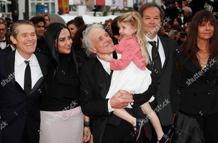 Willem Dafoe, Giada Colagrande, US director Abel Ferrara US actress Anna Ferrara arrive for the screening of 'La Belle Epoque' during the 72nd annual Cannes Film Festival, in Cannes, France, 20 May 2019. The movie is presented out of competition at the festival which runs from 14 to 25 May.