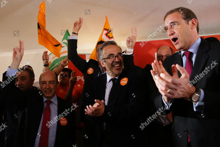 Editorial image of European elections campaign in Cascais, Portugal - 20 May 2019