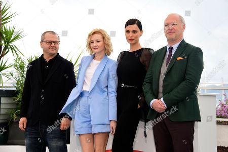 Corneliu Porumboiu, Catrinel Menghia, Rodica Lazar and Vlad Ivanov