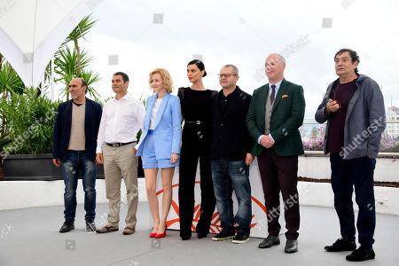 Stock Picture of Corneliu Porumboiu, Catrinel Menghia, Rodica Lazar and Vlad Ivanov