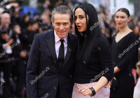 Willem Dafoe, Giada Colagrande. Actor Willem Dafoe, left, and Giada Colagrande pose for photographers upon arrival at the premiere of the film 'La Belle Epoque' at the 72nd international film festival, Cannes, southern France