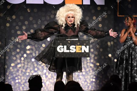Editorial photo of GLSEN Respect Awards, Inside, Cipriani 42nd Street, New York, USA - 20 May 2019