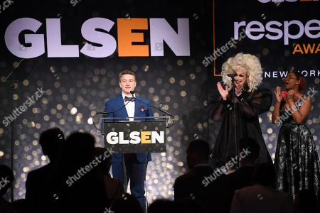 Editorial image of GLSEN Respect Awards, Inside, Cipriani 42nd Street, New York, USA - 20 May 2019