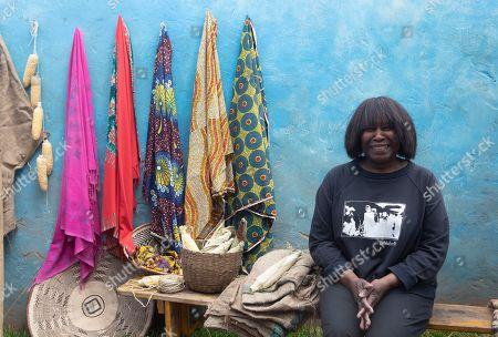 Joan Armatrading at RHS Chelsea Flower Show