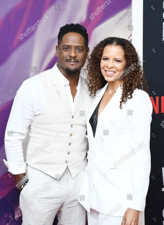 Stock Photo of Blair Underwood and Desiree DaCosta