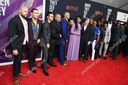 Editorial picture of 'When They See Us' TV show premiere, Arrivals, Apollo Theater, New York, USA - 20 May 2019