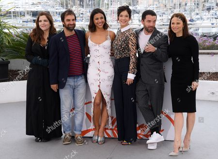 Agnes Jaoui, Gregory Montel, Zita Hanrot, Melanie Doutey, Guillaume Gouix and Suzanne Clement