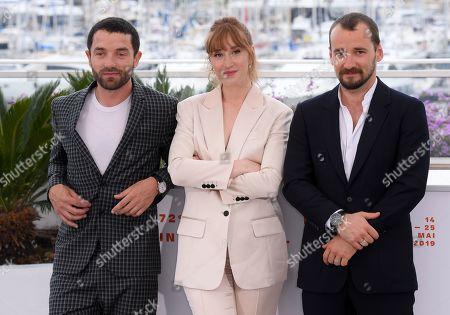 Guillaume Gouix, Eulalie Elsker and Jonathan Turnbull