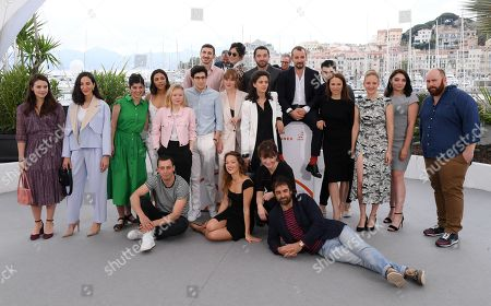 Guillaume Gouix, Eulalie Elsker, Jonathan Turnbull, Suzanne Clement, Martin Karmann, Marilyn Aussilloux, Leslie Lipkins, Jeremy Lewin, Lucie Digout, Melanie Doutey, Emma Liegeois, Massimo Riggi, Samir Senhadji, Julianna Vogt, Gregory Montel, Noemie Chicheportiche, Cypriane Gardin, Zita Hanrot, Eulalie Elsker and Marc Riso