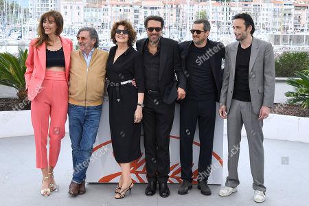 Doria Tillier, Daniel Auteuil, Fanny Ardant, Nicolas Bedos, Guillaume Canet and Michael Cohen