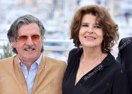 Daniel Auteuil and Fanny Ardant