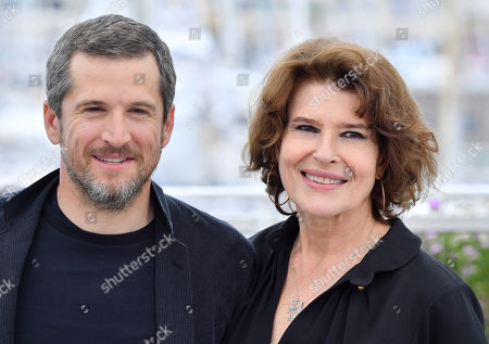 Guillaume Canet and Fanny Ardant