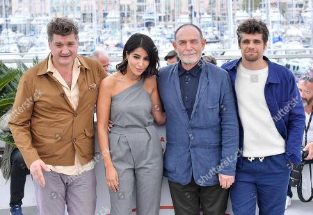 Thomas Bidegain, Leila Bekhti, Lorenzo Mattotti and Arthur Dupont