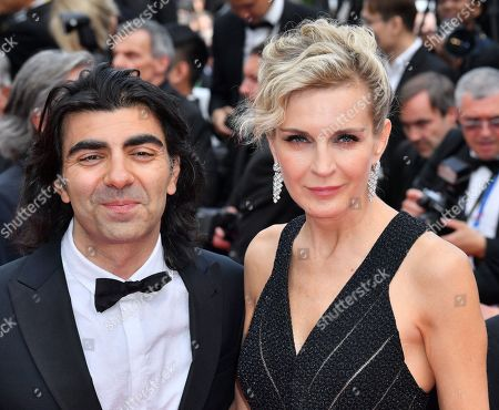 Stock Picture of Fatih Akin and Melita Toscan du Plantier