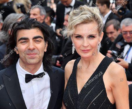 Fatih Akin and Melita Toscan du Plantier